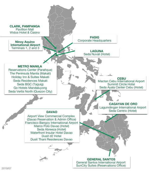 Europcar Philippines Locations